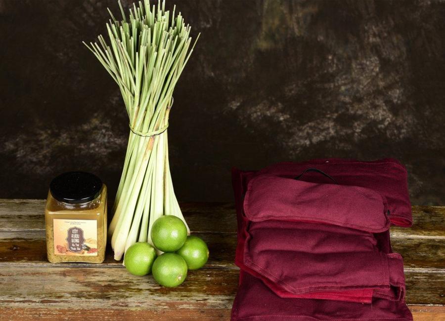 Bộ túi thảo dược nóng thư giãn - trị đau nhức toàn thân